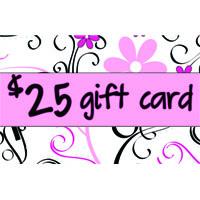 25 Dollar Gift Cards