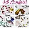 3D Confetti
