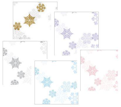let it snow assortment cellophane bags