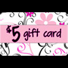 5 Dollar Gift Cards