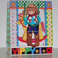 8 x 10 Yippi-i-o Gift Bags