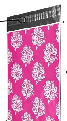 Beautiful Roses Poly Mailers 10x13