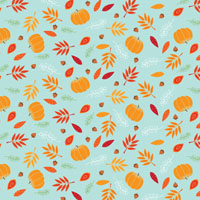 Blissful Fall Cellophane Roll 24 x 100