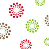Holiday Blooming Dots 3 x 7.5 inch Cellophane Bags
