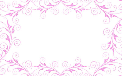 Jewel Pink Border Self Sealing Cellophane Bags 9 x 12 inch