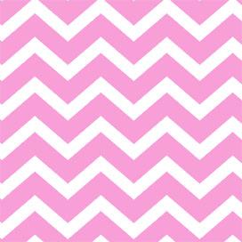 Light Pink Chevron 4 x 9