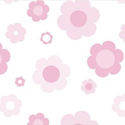 Light Pink FLowers Self Sealing Cellophane Bags