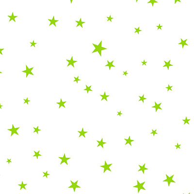 Lime Stars Self Sealing Cellophane Bags 5.5x8.25
