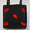 Elegant Red Lip Purse