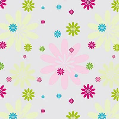 Spring Floral cellophane bag