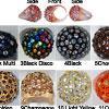 Acrylic Sparkle Rings
