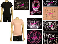 Custom Bling T-Shirts