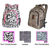Back Packs with Prints