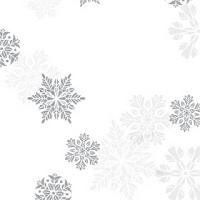 Let it Snow Silver 6.25 x 10 Self-Sealing Cellophane Bags