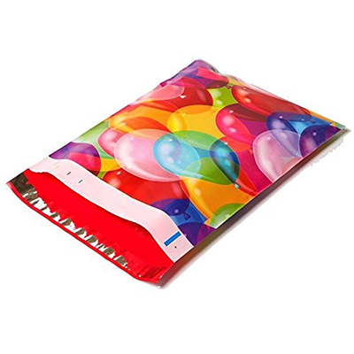 Balloons Poly Mailers 10x13