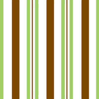 Sweet Stripes Chocolate Green 4x9 Cellophane Bags