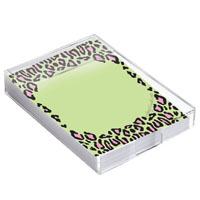 Bee Wild-N-Crazy  Notes in Acrylic Caddy