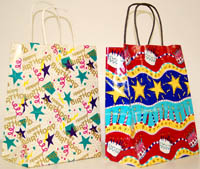 Birthday Paper Gift Bags