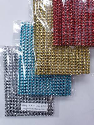 bling4x18 squares