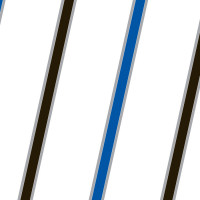 Blue Black and Silver Stripes Cellophane Roll 24 x 100