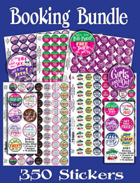 Booking Bundle Stickers