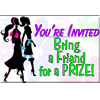 You're Invited Bring a Friend Card