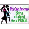 You're Invited Bring a Friend Card