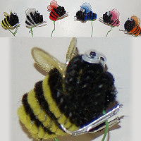 Bumble Bee Adornments