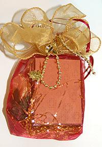 Amber Organza Bag Package