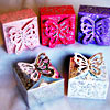 Butterfly Glittered Gift Boxes