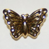 gold butterfly tac pin