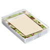 Camouflage Notes in Acrylic Caddy