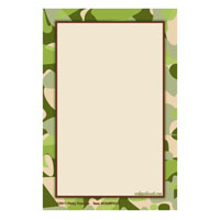 Camouflage Caddy Refill Notes