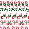 Candy Canes Cellophane Roll 24 x 100