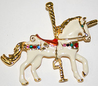 Pin Carousel Unicorn
