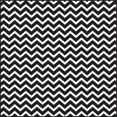 Black Chevron 3 x 7.5 inch Cellophane Bags