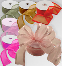 Chiffon Wired Ribbon