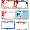Gift Enclosure Cards Congrats Luck Wishes