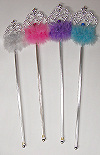 Fluffy Queen Wands
