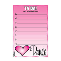 Dance Caddy Refill Notes