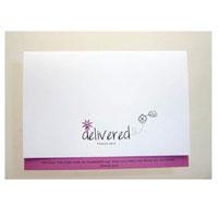 Delivered Card