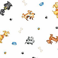 Doggie Days 3x7 Cellophane Bags