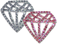 Double Diamond Pin