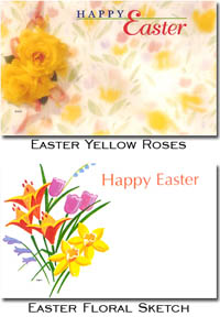 Gift Enclosure Cards Easter