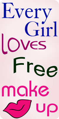 Every Girl Loves Free Makeup