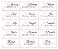 15 Expenses Labels