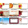 Gift Enclosure Cards Fall and Winter