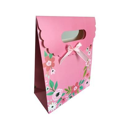 floral gift box bag