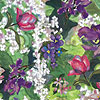 Spring Garden Cellophane Roll 24 x 100