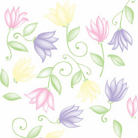 Flower Dance Cellophane Roll 24 x 100